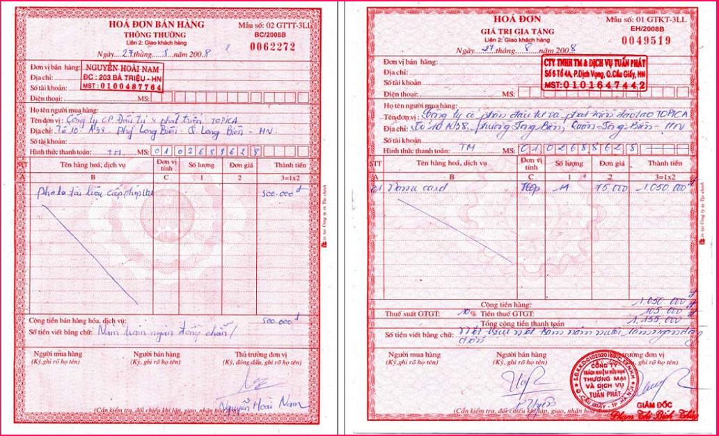 Hướng dẫn viết tắt tên, địa chỉ trên hóa đơn