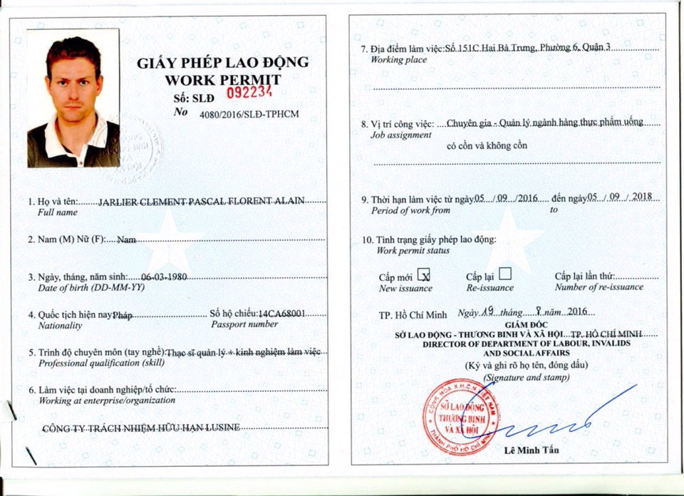 Không gia hạn giấy phép lao động cho người nước ngoài