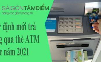 Quy Định Mới Về Trả Lương Qua Thẻ ATM